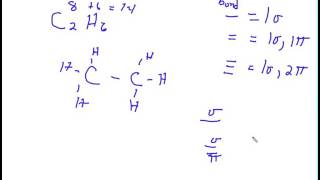 Determining the number of Sigma and Pi bonds in a molecule   Broadband