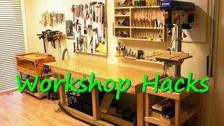 Use these wood shop ideas to make your next workshop project a lot easier