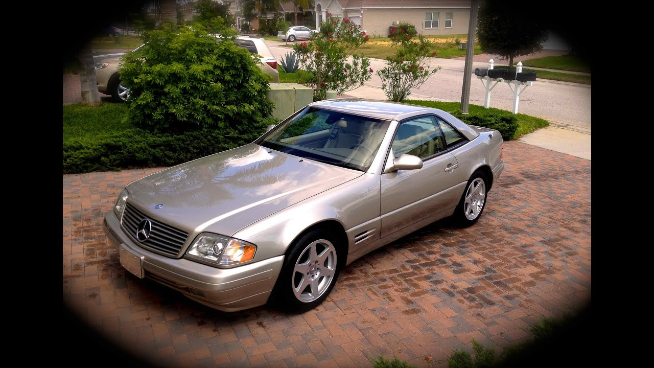 car update my 1999 mercedes benz sl500 r129 cold start youtube. Black Bedroom Furniture Sets. Home Design Ideas