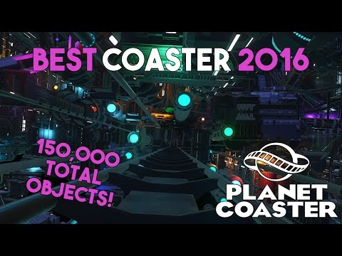BEST COASTER OF 2016! (150,000+ Objects) | Planet Coaster