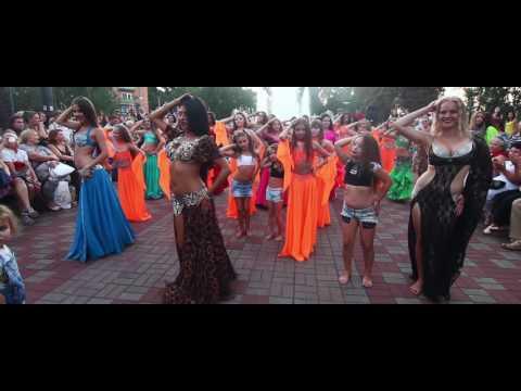 Школа восточного танца Шейх Али Маргариты - Флешмоб