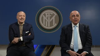 GIUSEPPE MAROTTA and ADRIANO GALLIANI | INTER TV EXCLUSIVE INTERVIEW 🎙️⚫🔵 [SUB ENG]