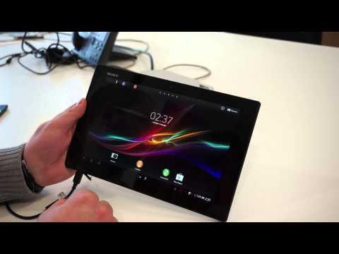 Sony Xperia Tablet Z - первый взгляд