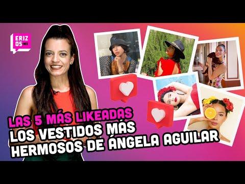 Ángela Aguilar y sus más bellos vestidos | Las 5 más likeadas
