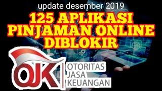 Pinjaman Online Diblokir Daftar Pinjaman Online Ditutup Otoritas Jasa Keuangan Ojk 2019 Youtube