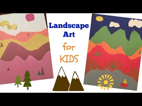 Landscape Art for Kids – Art Appreciation