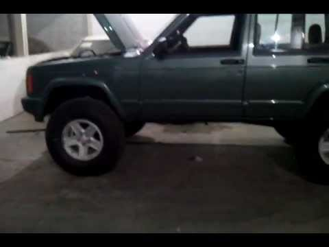 jeep cherokee xj with comp cams ( cammed )
