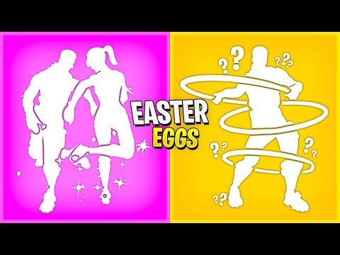 Fortnite SECRET EMOTE Easter Eggs..! (Hidden Features)