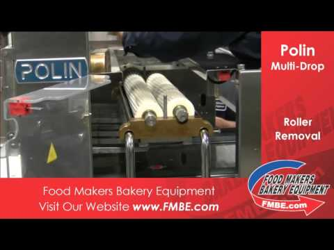 Polin Multi-Drop Roller Removal   Food Makers Bakery Equip