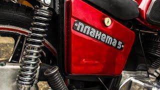 Мотоцикл ИЖ Планета-5. Реставрация. Мото обзор. Мотоателье Ретроцикл