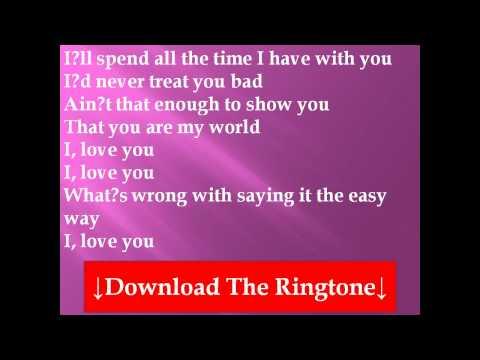 Westlife -  The Easy Way Lyrics
