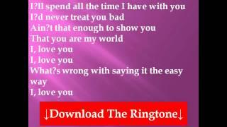 Westlife - The Eąsy Way Lyrics