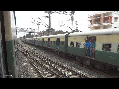 Krishnanagar city junction to Ranaghat junction EMU local train full journey (Down) #ayeetra