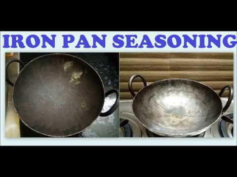 How to season iron kadai (pan)| Detailed seasoning steps