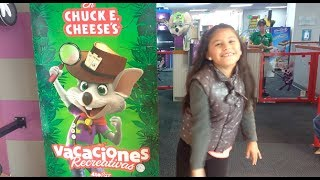 Juanita en Chuck E. Cheese!! - Hey Juana