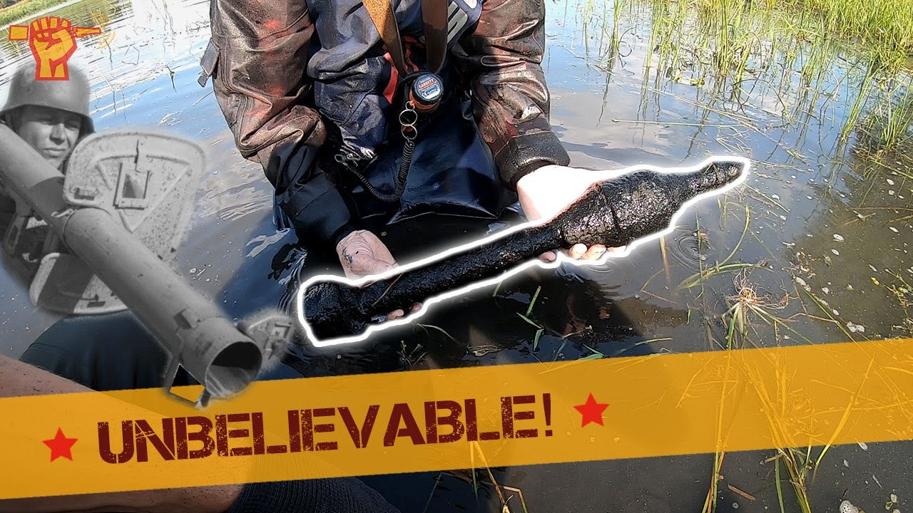 WW2 Anti-Tank ROCKETS found in a LAKE!
