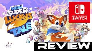 New Super Lucky's Tale | Nintendo Switch - Quick Review (Video Game Video Review)