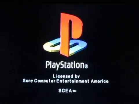 Playstation 2 console start up with ps1 logo long logo - High resolution playstation logo ...