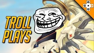 Overwatch - Funny Troll Plays, BMs, and Taunts - Highlights Montage