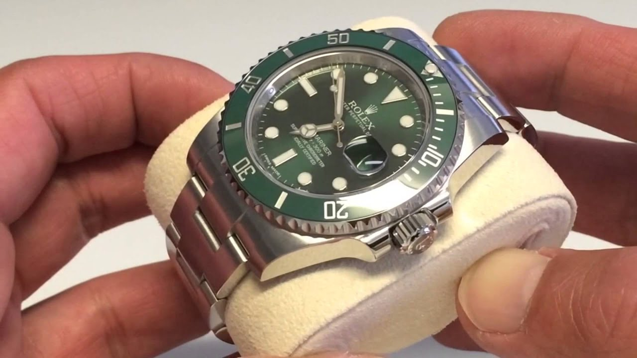 Rolex Submariner Hulk Replica