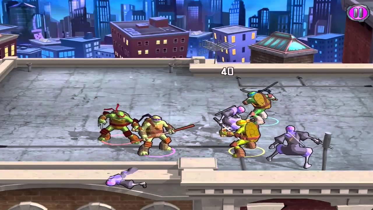 Tortugas Ninja  Portal Power Gratis Disponible Para Android y Ios