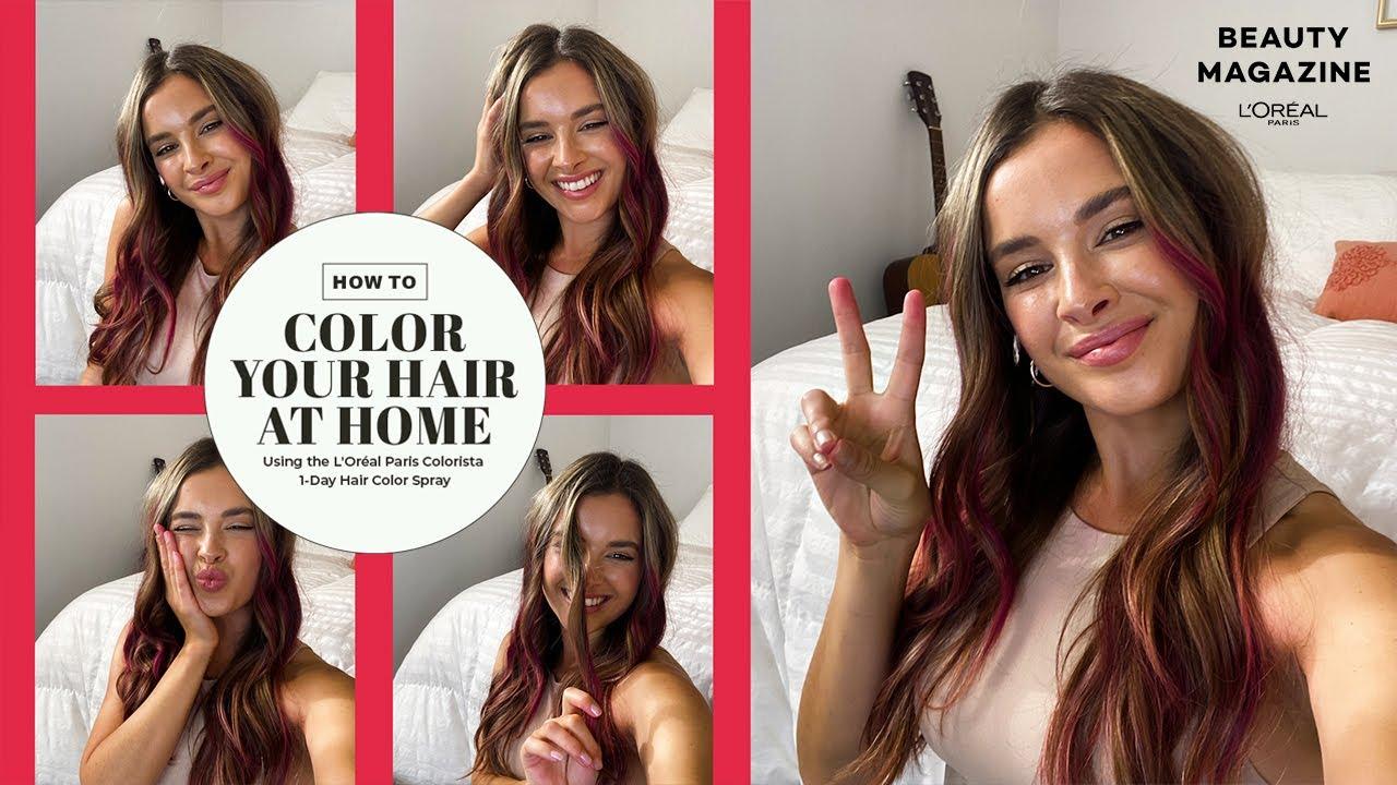 How to Dye Dark Hair Without Bleach   L'Oréal Paris