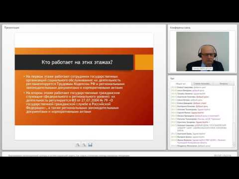 Формирование организационной культуры в системе социальной защиты
