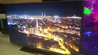 going over the SAMSUNG UN55HU6950 4K UHD LED TV