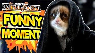 Star Wars Battlefront 2 Funny & Random Moments [FUNTAGE] - #46