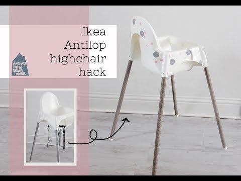 Antilop highchair Ikea hack