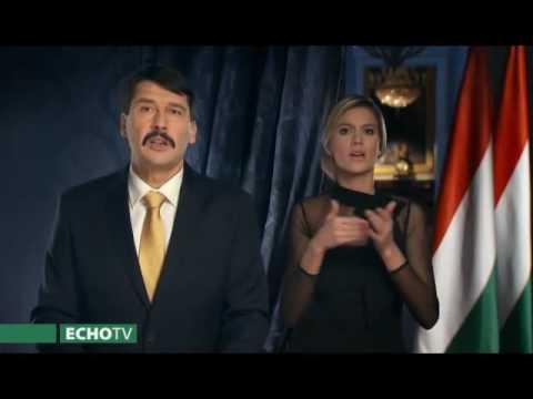 Áder János beszéde - Echo Tv