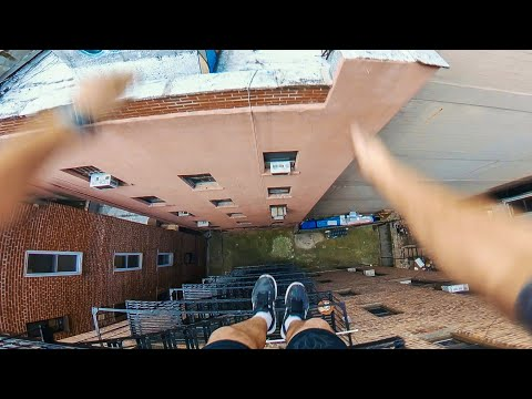 New York Rooftop Parkour POV - The Unknown Project
