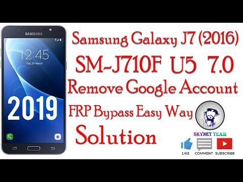 Samsung SM-J710F U5 Bit 5 Android 7 0 Oreo Remove Google