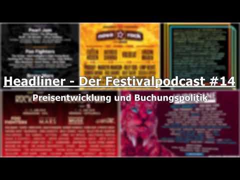 Headliner - Der Festivalpodcast #14 | Preisentwicklung und Buchungspolitik
