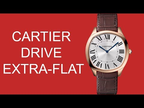 In the metal: The Cartier Drive Extra-Flat