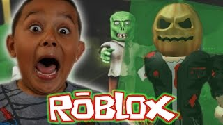 RUN FOR YOUR LIFE BRO! Freeze Tag: Hallows Eve (ROBLOX) Gameplay