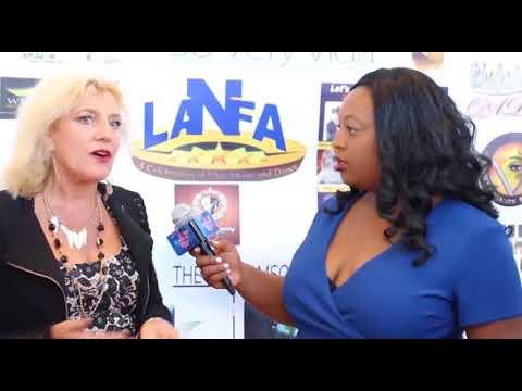 Los Angeles  Nollywood Awards.Nikki-D -  Nicole Dunlap.Aug.26.2017 LANFA...