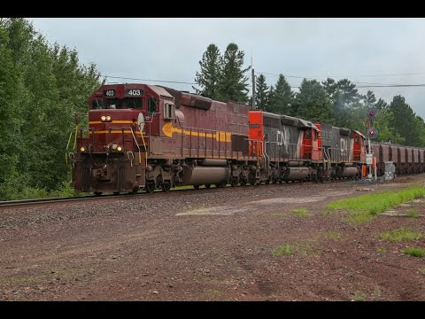 [4K] Railfanning CN on Former DMIR territory