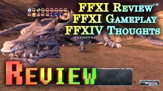 HD FFXI Gameplay and Review + FFXIV A Realm Reborn First Impressions -- ReviewZoneHD
