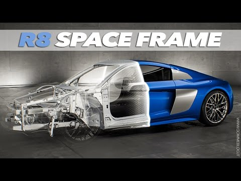 2015 ALL NEW Audi R8 | SPACE FRAME TECHNOLOGY