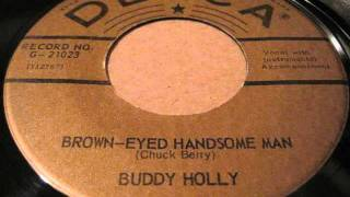 Watch Buddy Holly Brown Eyed Handsome Man Overdubbed Version video
