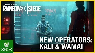 Rainbow Six Siege: Operation Shifting Tides – Kali & Wamai Trailer | Ubisoft [NA]