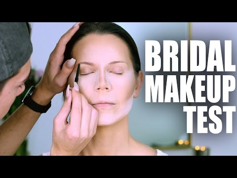 MY WEDDING MAKEUP | Tati and James Wedding