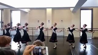 Итоговый экзамен по народному танцу за 7-й класс 09.04.2018. Ч. 1