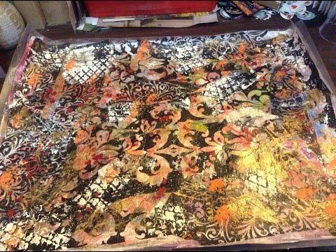 Layered scrap paper