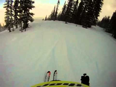 Derek Taylor Powder Skiing Music Video: Snowmass, Colorado. January 2011