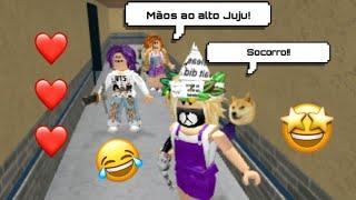 ROBLOX- MURDER SERVER VIP!- SOFIA,JUJU, LILINHA E SEUS GAMES