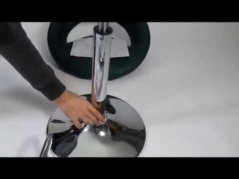 Barhocker Aufbau und Unboxing Barstuhl Clemens  YouTube