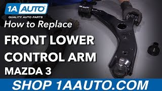 TRQ Control Arm Front Lower LH Left /& RH Right Pair Set for 10-13 Mazda 3