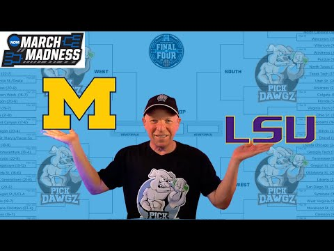 Michigan vs LSU 3/22/21 Free College Basketball Pick and Prediction NCAA Tournament